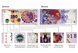 Billet à l'effigie d'Eva Peron - Crédit CC Flickr/BCRA Gerencia de Prensa
