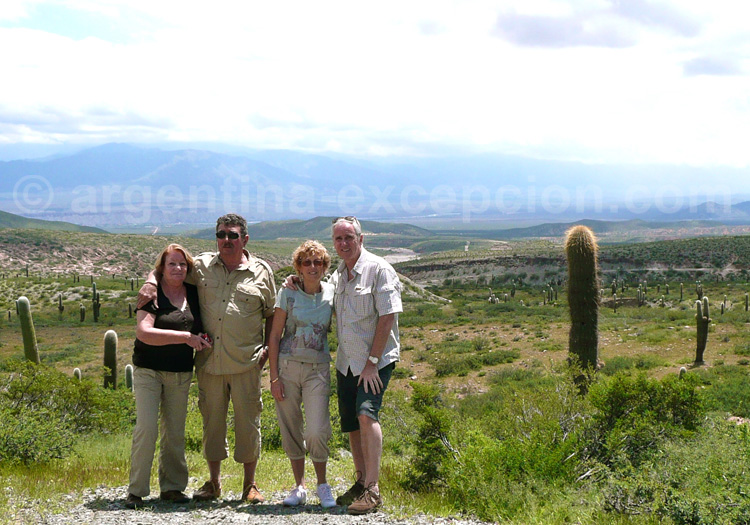 Dans le Parc national Los Cardones, Nord-ouest Argentin