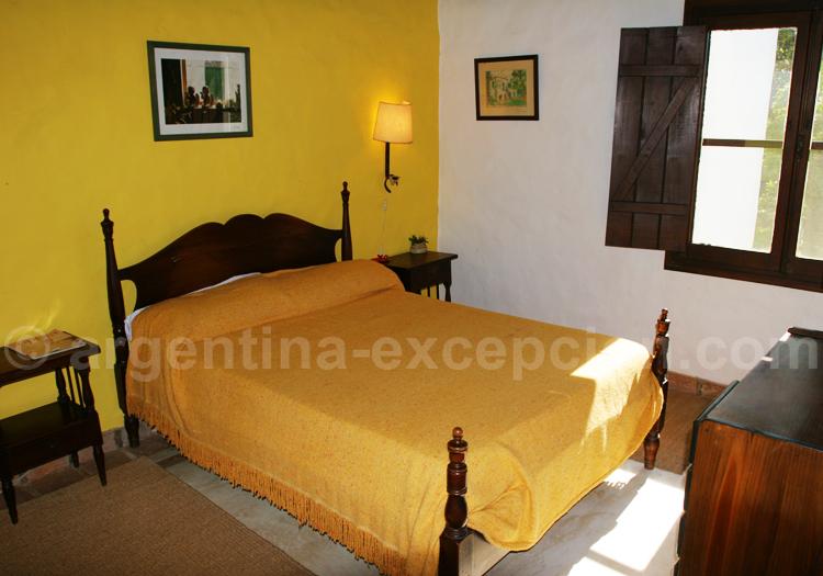 Chambre double, Posada Aguape