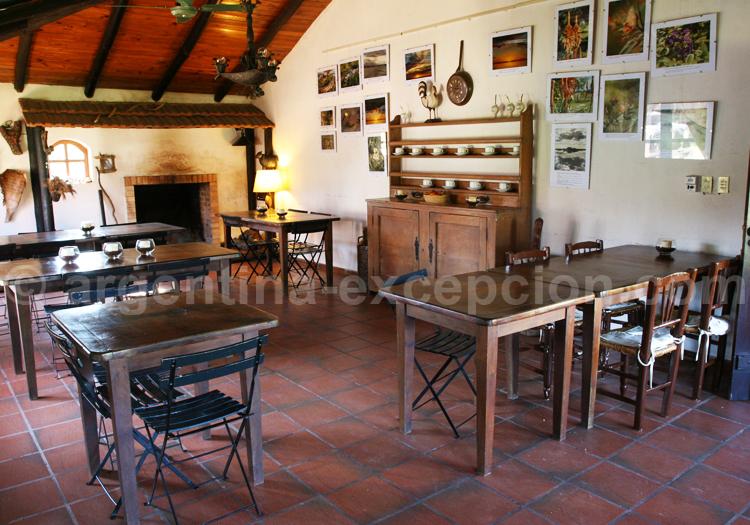 Restaurant, Posada Aguape
