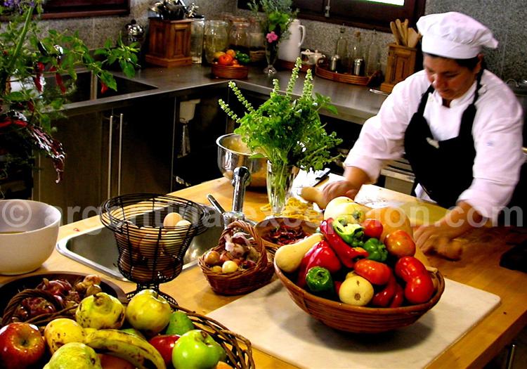 Cuisine, Estancia Rincon del Socorro