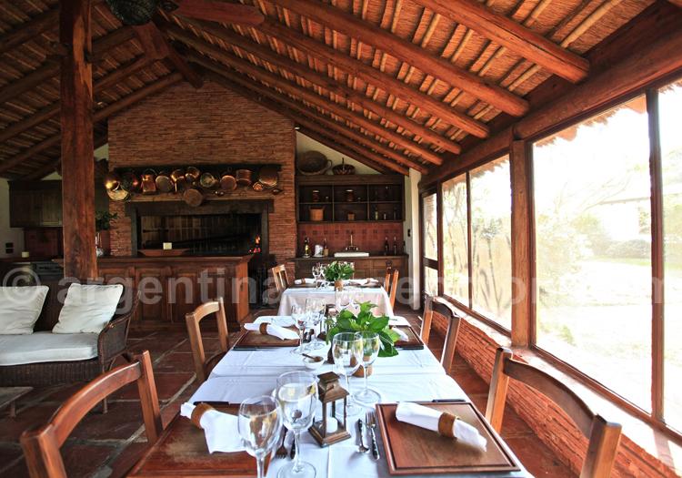 Restaurant, Estancia Rincon del Socorro