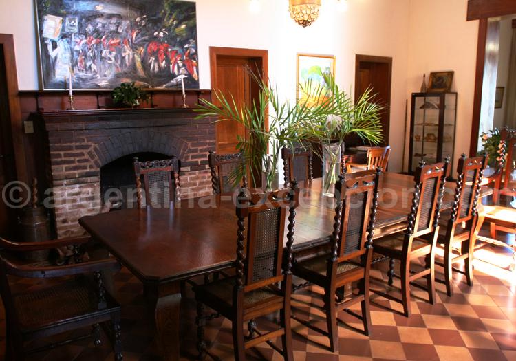 Comedor, Estancia Santa Cecilia