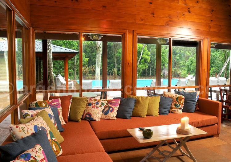 Veranda, Cantera Lodge