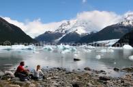 Baie Donelli, Lago Argentino