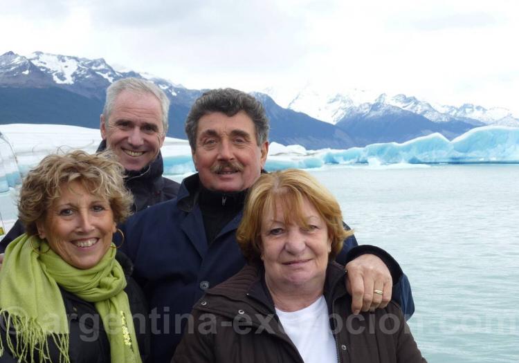 Au milieu des glaciers de Patagonie