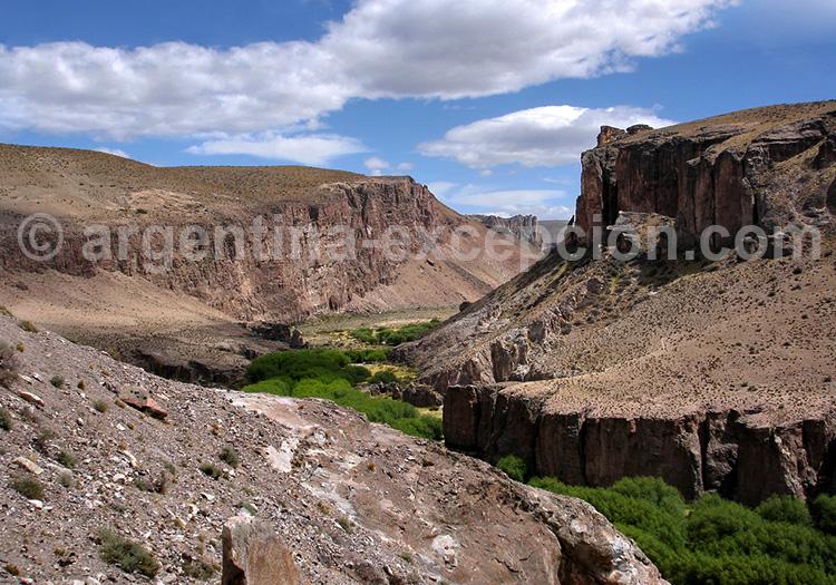 Canyon Rio Pinturas, Patagonie