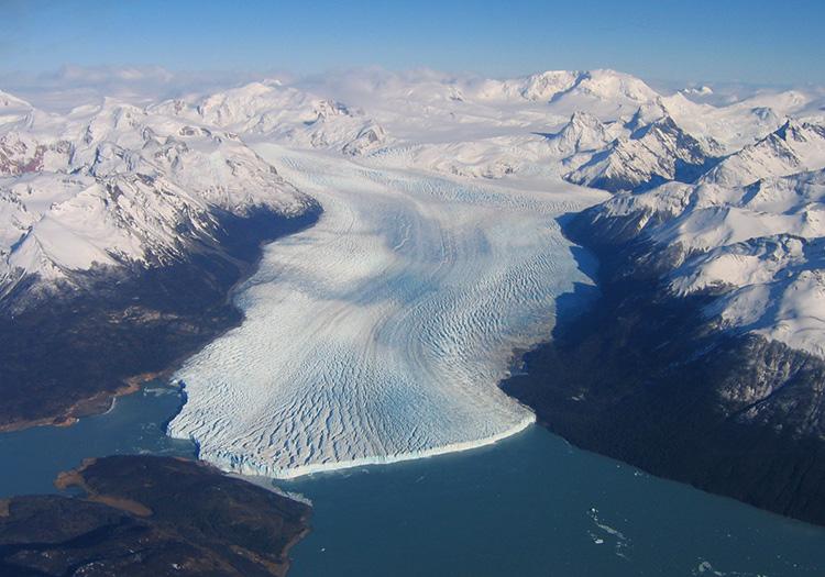 champ de glace patagonique perito moreno
