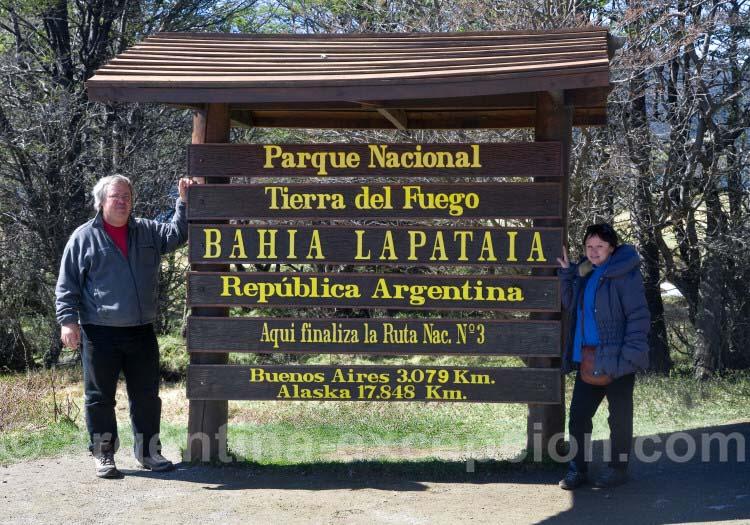 Bahía Lapataia, Parc National Terre de Feu