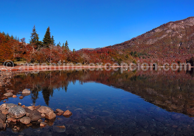 Lago hermoso, Route des 7 lacs