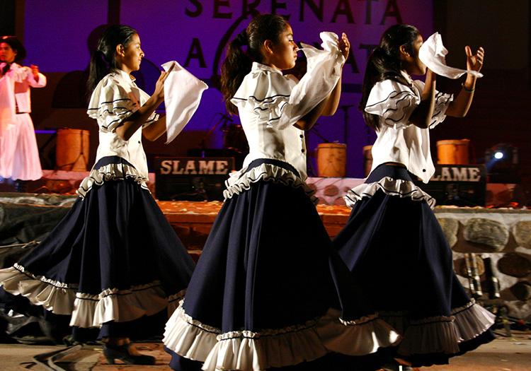 Danse folklorique à Cafayate