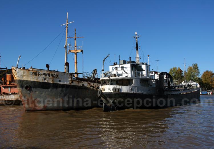 Chalutiers du delta du Paraná