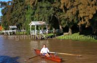 Canoe sur le Delta du Parana