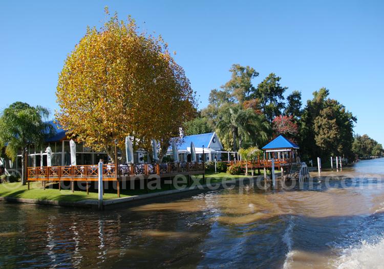 Restaurant El Gato Blanco, delta de Tigre