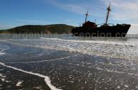 Restos de la Desdemona, Cabo San Pablo - Tierra del Fuego