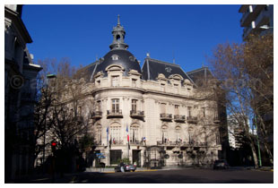L'Ambassade de France à Buenos Aires