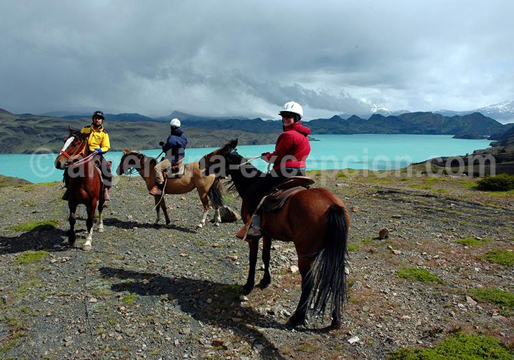 Balade équestre parc Torres del Paine