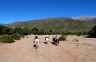 Cabalgata en la estancia Colomé, Salta