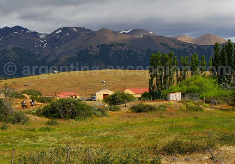 La vie en estancia de Patagonie