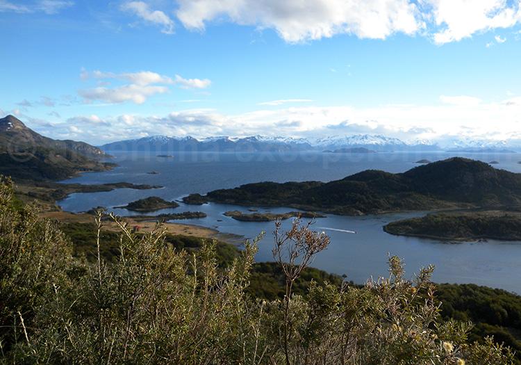 Baie Wulaia, sud de l'archipel de Patagonie