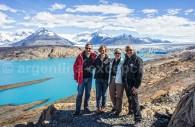 Trek autour du glacier Upsala