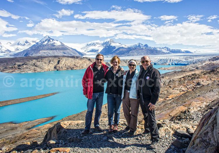 Trek autour du glacier Upsalla