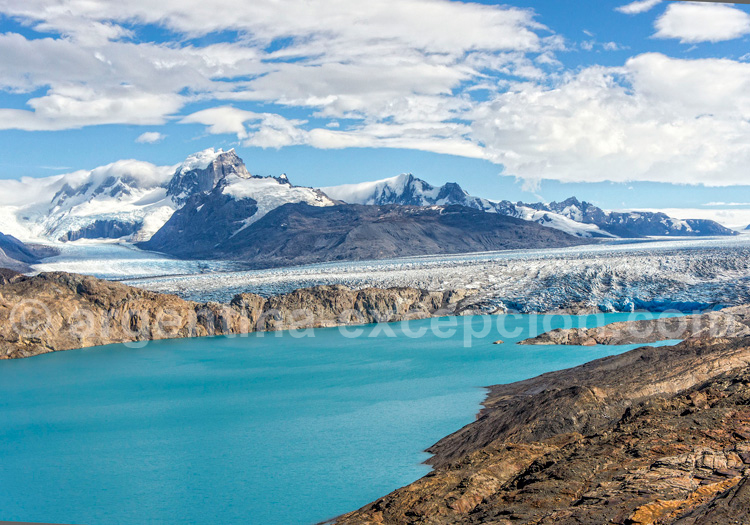 Le glacier Upsala, Patagonie argentine