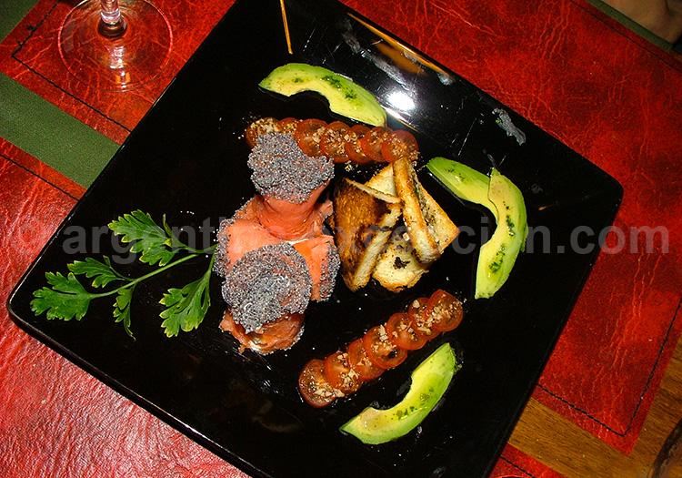 Assiette de truite, La Estepa, El Chalten