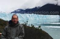 Face au Perito Moreno, El Calafate