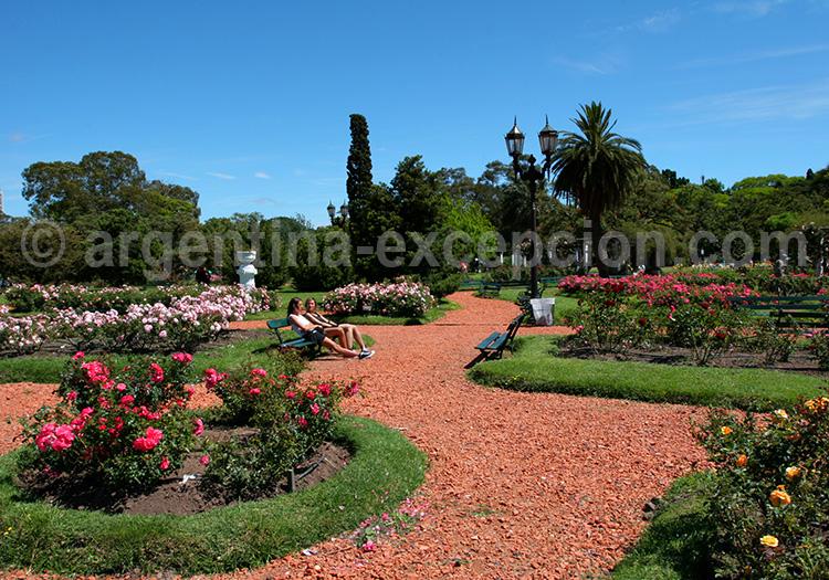 Jardins du Rosedal, Buenos Aires