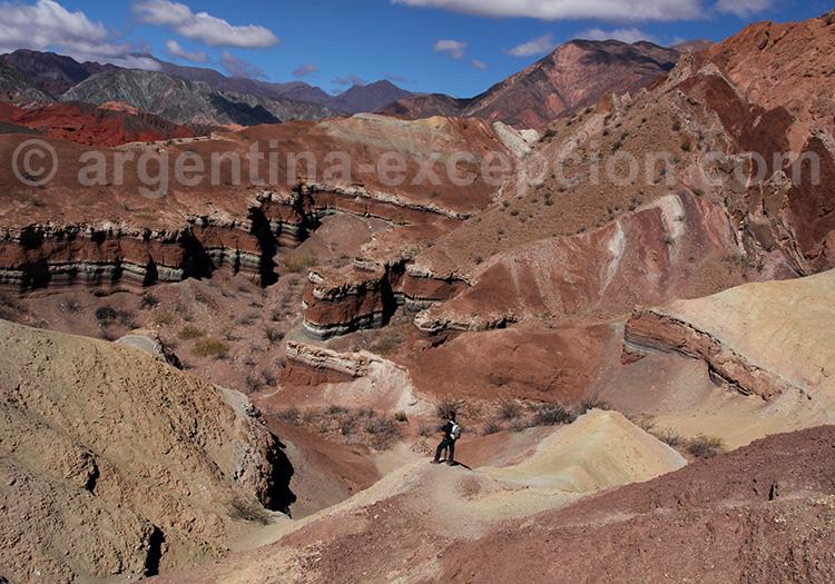 La Yesera, Quebrada de las Conchas