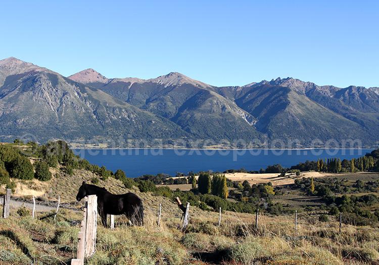 Lago Huechulafquen, Patagonie