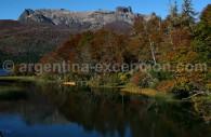 Lago Falkner, route des 7 lacs