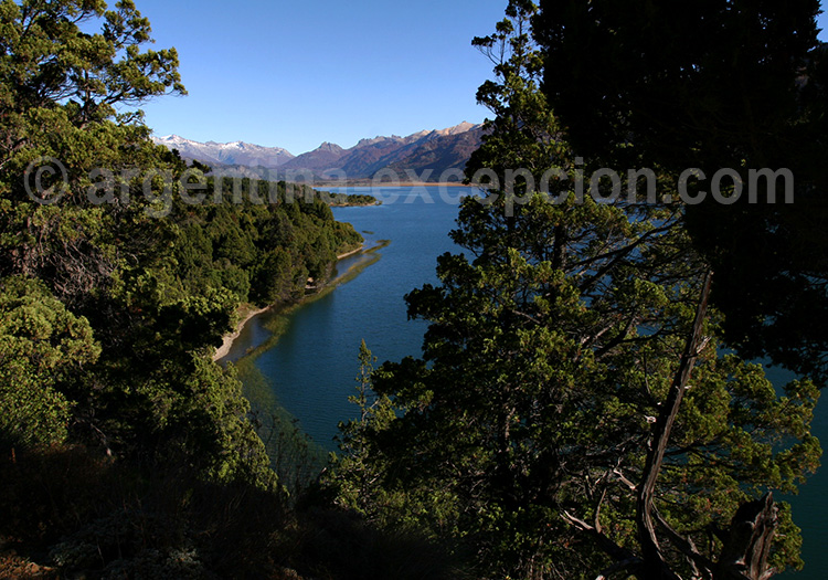 Lago Filo Hua Hum, Patagonie