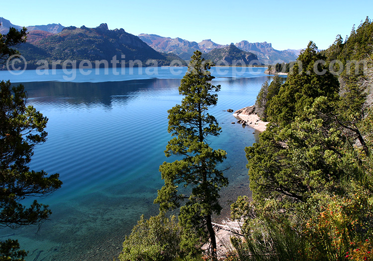 Lago Traful, une fôret immergée