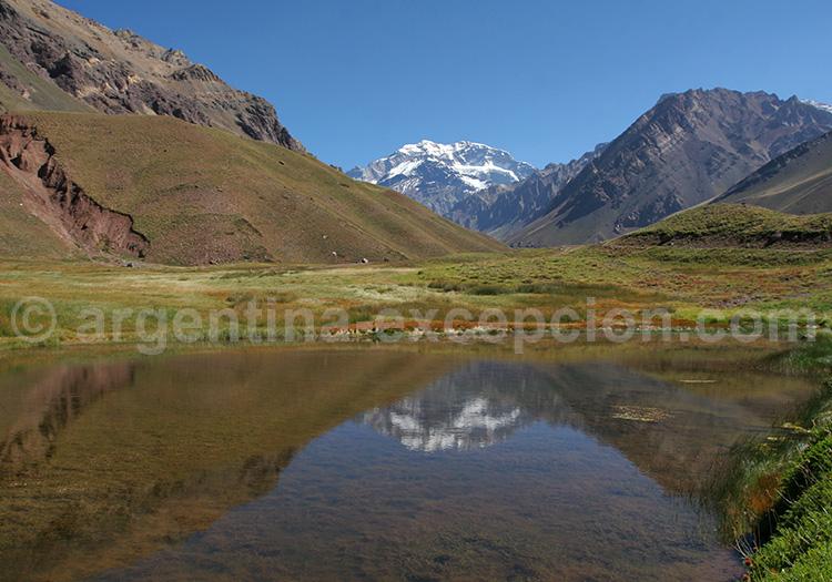 Laguna Espejo, parc Aconcagua