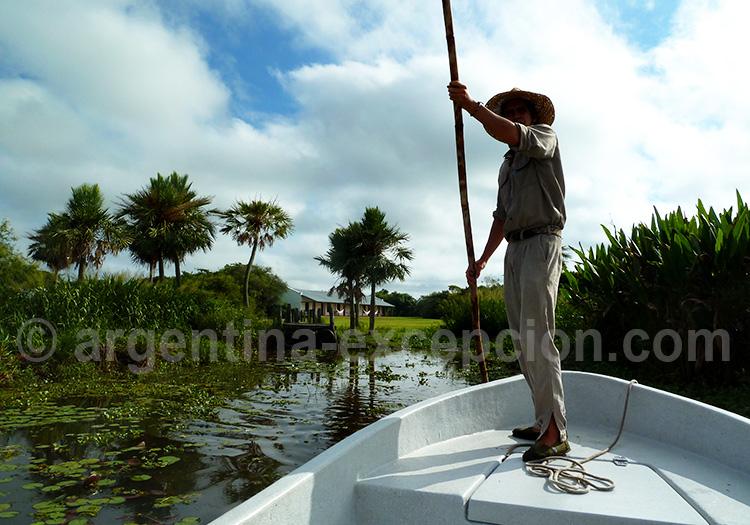 Safari sur la lagune Ibera