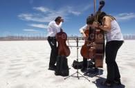 Un peu de musique aux Salinas Grandes