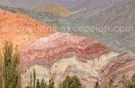 Cerro de siete colores, Purmamarca