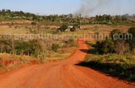 Tierra colorada en Misiones