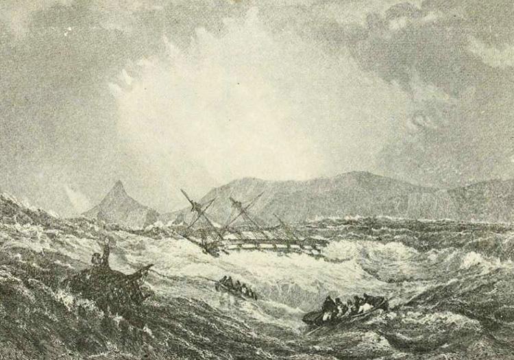 Les terribles courants des océans au Cap Horn
