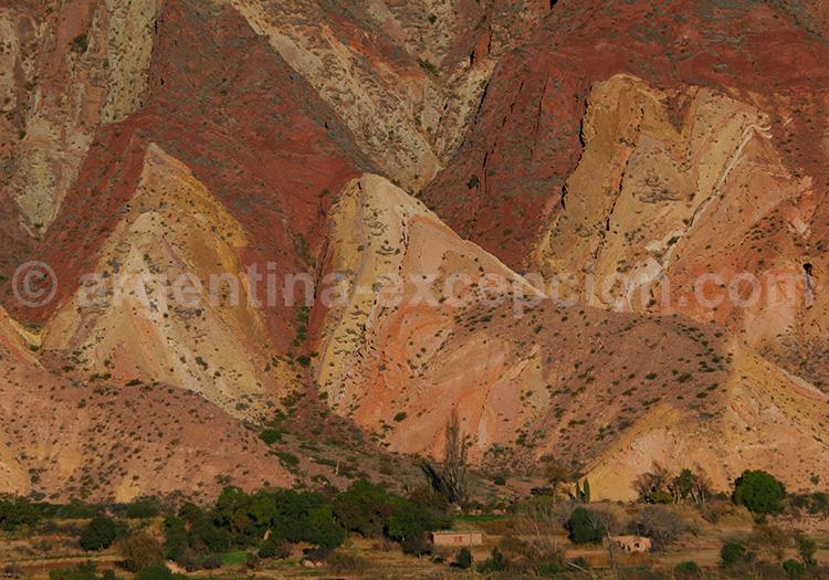 Paleta del Pintor, Quebrada de Humahuaca
