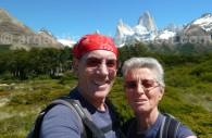 Devant le Cerro Fitz Roy, El Chaltén