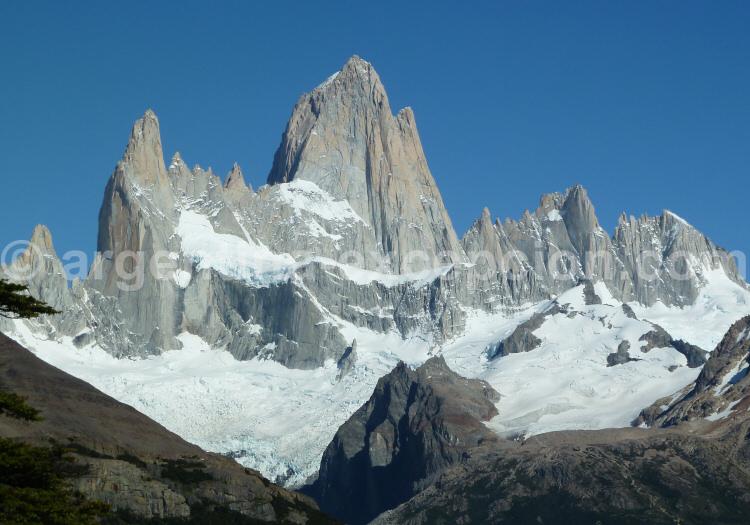 Le massif du Fitz Roy, El Chaltén, Patagonie