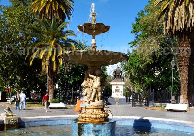 La fontaine de la Place 25 de Mayo, San Juan