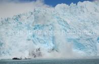 Le glacier Spegazzini depuis l'eau