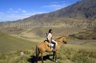 Quilmes a caballo