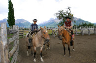 A caballo en Patagonia