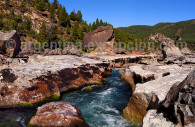 Río Caleufu, Patagonia