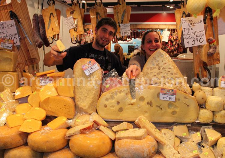 La route du fromage, Argentine